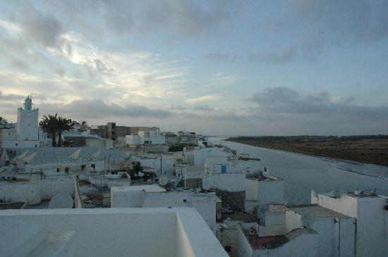 Riad7 : vue de la terrasse