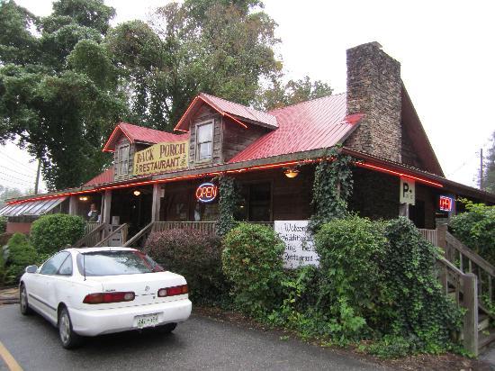 Back Porch Restaurant: Außenansicht des Restaurants September 2011