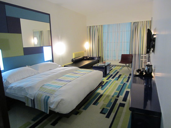 Dubai International Hotel: Modern room Terminal 3
