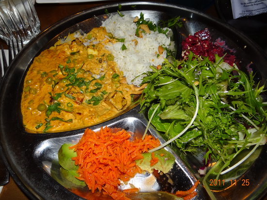 Backdoor Kitchen & Catering : Vegetarian Thali