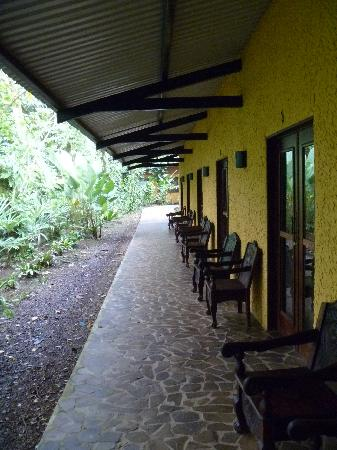 Tirimbina Lodge: Row of rooms