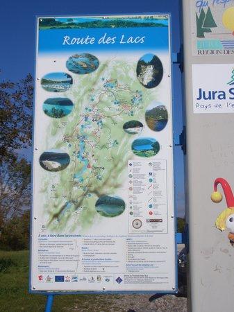 Routes des Lacs