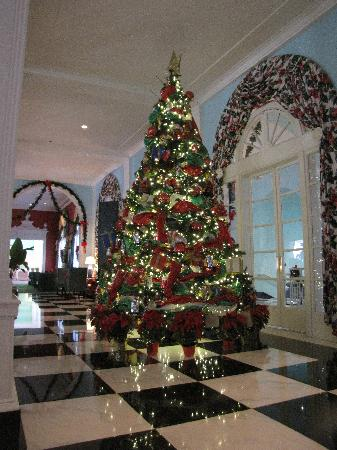 White Sulphur Springs, WV: Christmas Tree