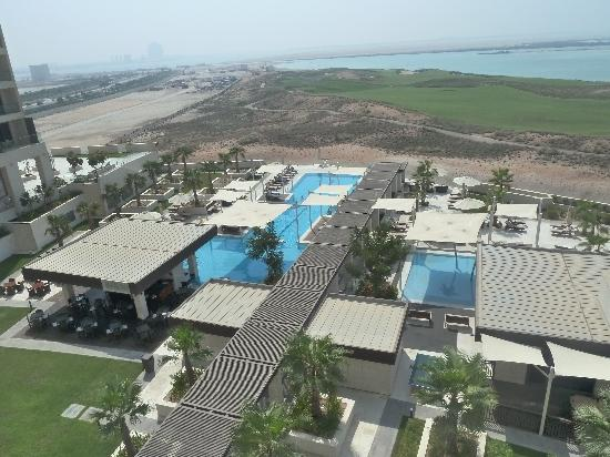 Crowne Plaza Abu Dhabi - Yas Island: view from balcony