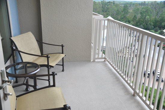 Waldorf Astoria Orlando: Balcony of king suite