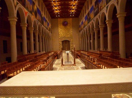 Church of the Transfiguration: Inside the church