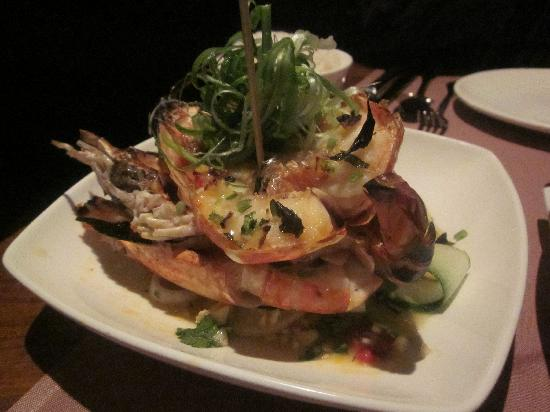 Soho Spice: King Prawns grilled