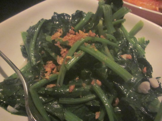 Soho Spice : Spinach and garlic