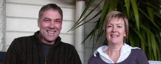 McCormick House Luxury Accommodation: Hosts, Carl and Jeanne