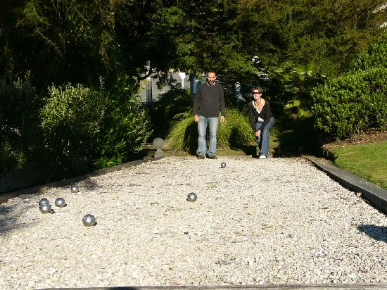 McCormick House Luxury Accommodation: Petanque