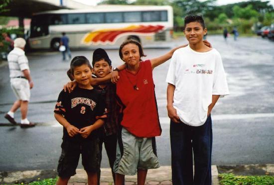 Giardini di Papagayo Hotel: border crossing at Nicaragua
