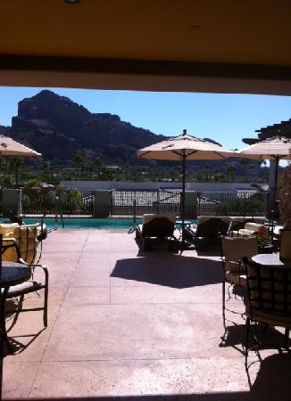 Joya Spa at Omni Scottsdale Resort: SPA ROOF-TOP POOL