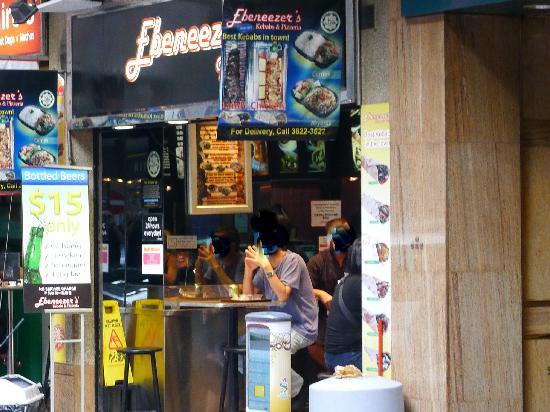 Ebeneezer's Kebab : Ebeneezer's branch in Wan Chai