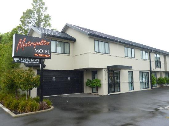 175 Metropolitan Executive Motel on Riccarton: Metropolitan Hotel Christchurch