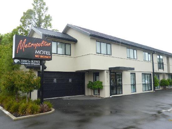 175 Metropolitan Executive Motel on Riccarton : Metropolitan Hotel Christchurch