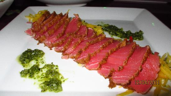 The Green Room: Ahi Tuna & Mango