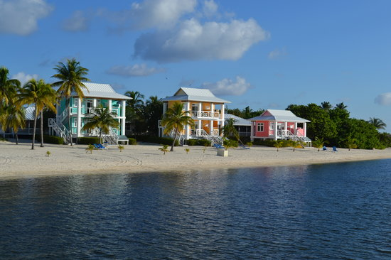 Little Cayman: We stayed on the top floor of the yellow bungalow.