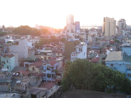 Anise Hotel: Top floor restaurant views