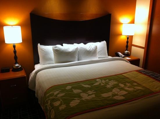 Fairfield Inn & Suites San Antonio Downtown/Alamo Plaza: bedroom