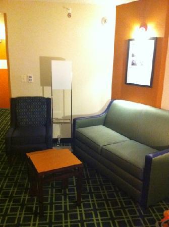 Fairfield Inn & Suites San Antonio Downtown/Alamo Plaza: living room