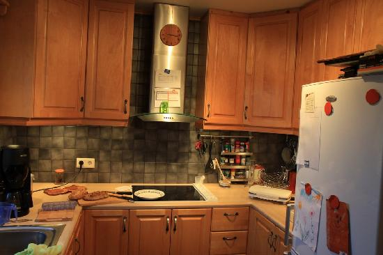 Guesthouse Nonni: The kitchen