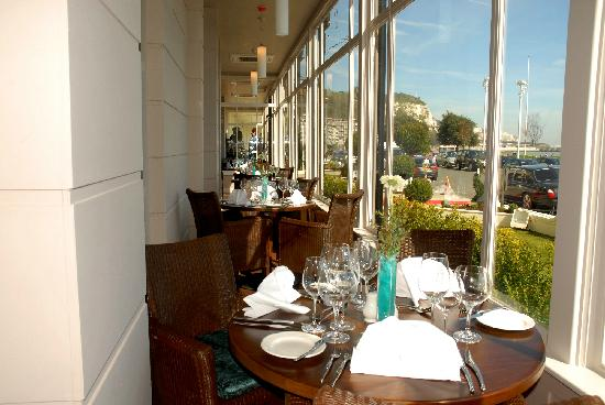 The Waterfront Restaurant: Restaurant alcove