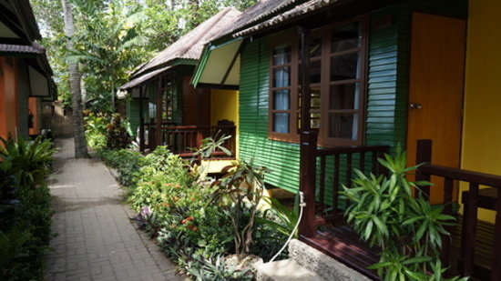 Sand Sea Resort & Spa: Garden bungalows