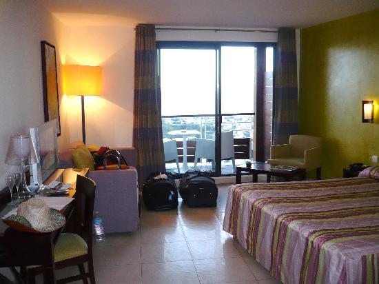 Hotel Bellepierre : chambre