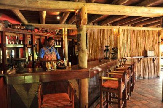 Lokuthula Lodges: Bar at the Lokuthula Swimming Pool