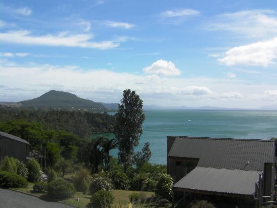 أورتي فيليدج ريزورت: Looking north from the balcony
