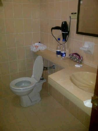 Hotel Dorado Plaza: estos baños de los 80´s y cobran $ 367.000 con descuento esto no tiene un costo de más de $ 80.0