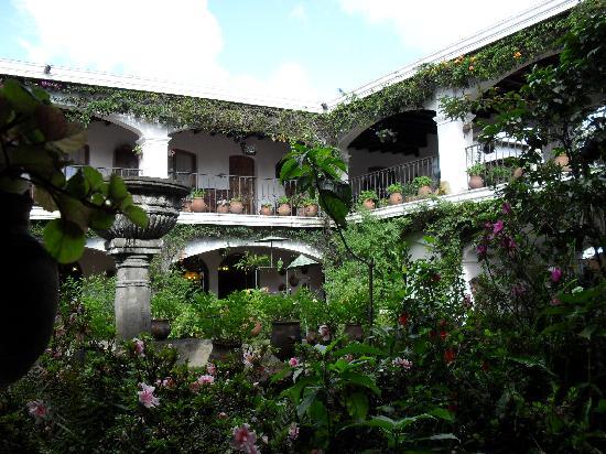 Santo Tomas Hotel: patio hotel