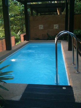 Andaman White Beach Resort: Pool in our Pool Villa