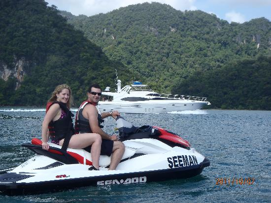 Seeman Watersports: some other view -jet ski tour