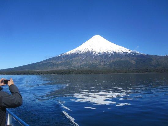 Petrohué, Chile: Cruce Lagos Andinos
