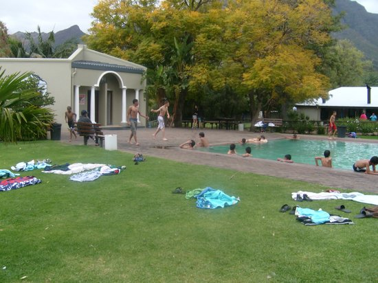 Rawsonville, Afrique du Sud : Main pool area