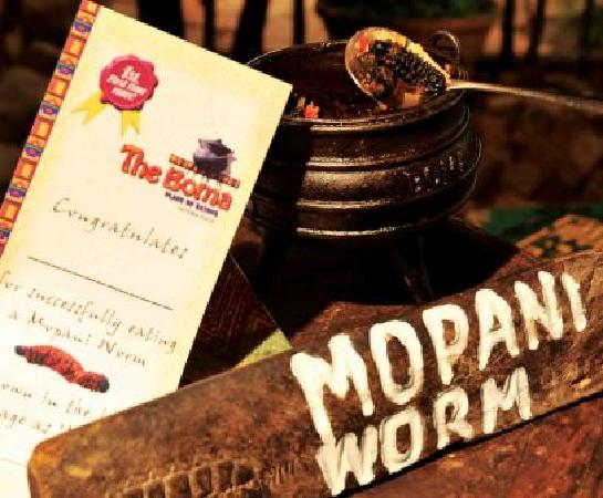 The Boma - Dinner & Drum Show: Mopani Worms - a must try!
