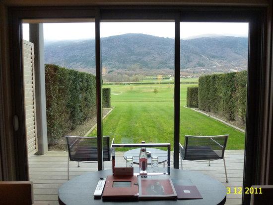 Vue sur le mont blanc photo de jiva hill resort crozet for Le jardin jiva hill
