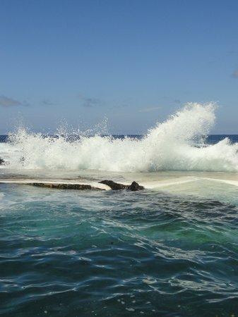 Meerwasserschwimmbecken