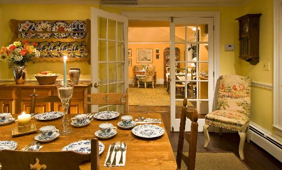 Carpe Diem Guesthouse & Spa: Dining rooms