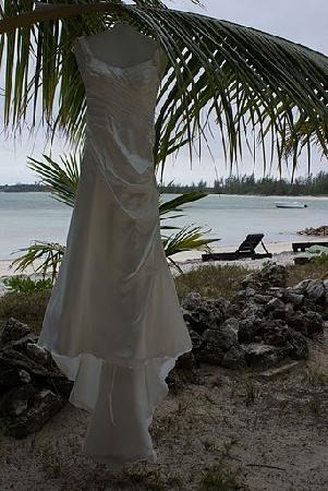 Small Hope Bay Lodge: The dress