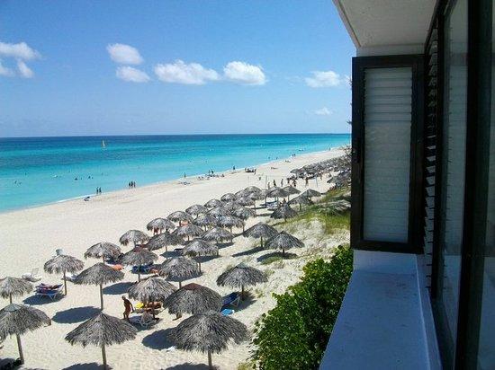 Sol Sirenas Coral Resort: view from the Casa De Los Cosmonautas building
