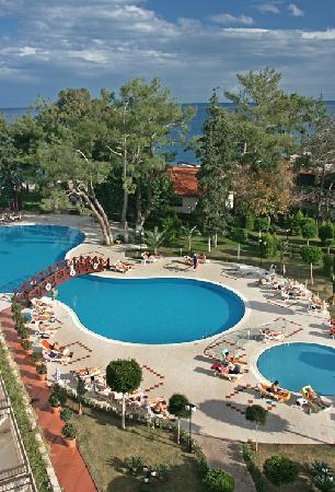 SENTIDO Palmet Resort: Blick vom Balkon