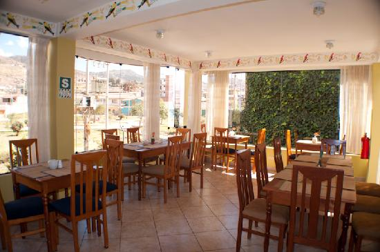 Hotel Torre Dorada: Dinner Room