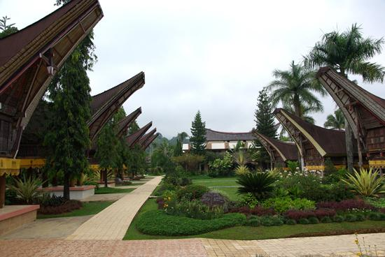 Toraja Misiliana Hotel: décor impressionnant, mais ce ne sont pas des chambress