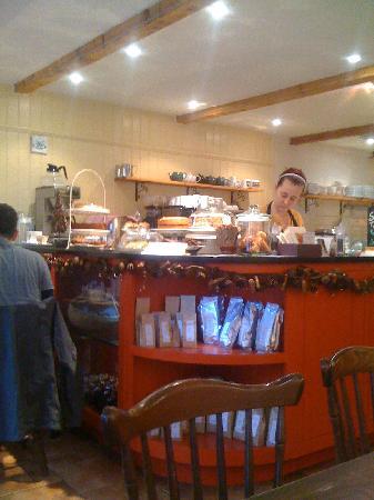 Rosie's Tea & Coffee Room: inside shop