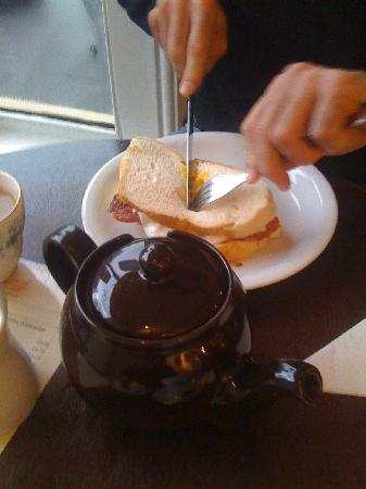 Rosie's Tea & Coffee Room: sandwich