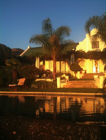 Rosendal Winery & Wellness Retreat: Sunset at lovely Rosendal