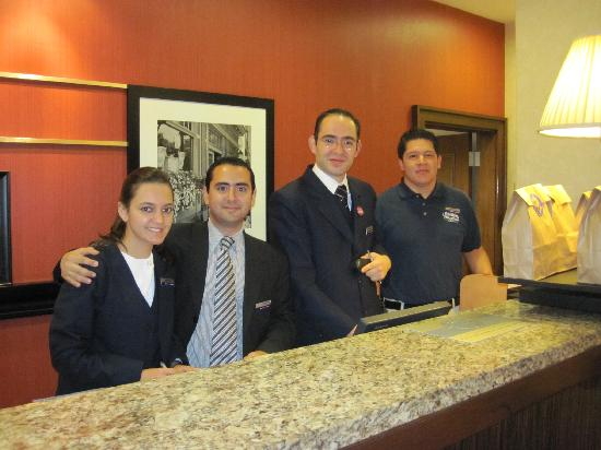 Hampton Inn & Suites Mexico City - Centro Historico : The best staff we have ever met!