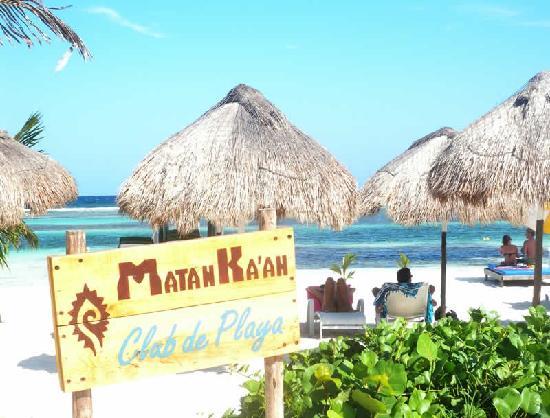 Koox Matan Ka'an Hotel: club de playa